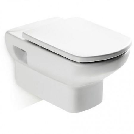 Roca Dama Senso Set Vas WC suspendat, 36x56 cm si capac soft close