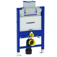 Geberit Duofix Omega Rezervor 12 cm incastrat pentru WC suspendat, H82 cm