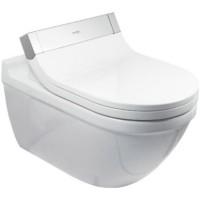 Duravit SensoWash Starck 3 Vas WC suspendat 37x72 cm, conexiuni ascunse