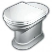 Hatria Dolcevita Vas WC pe pardoseala cu evacuare orizontala 37x59 cm
