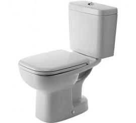 Duravit D-Code Vas WC pe pardoseala cu evacuare verticala 35x65 cm