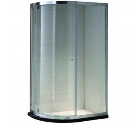 Belform Clear Cabina de dus semirotunda 90x70 cm