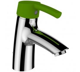 Laufen Florakids Baterie lavoar monocomanda cu ventil pop-up maner verde