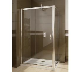Radaway Premium Plus DWJ+S Cabina de dus cu usa glisanta 120x100 cm, sticla transparenta