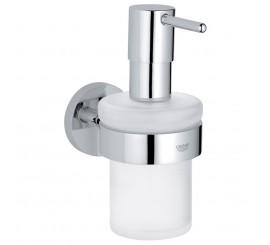 Grohe Essentials Dispenser sapun lichid cu suport