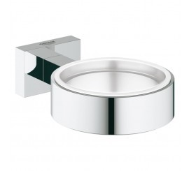 Grohe Essentials Cube Suport pahar sau savoniera
