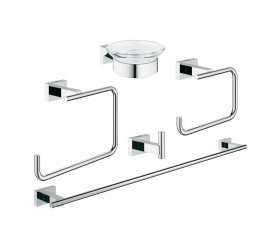 Grohe Essentials Cube Master Set accesorii baie 5 in 1