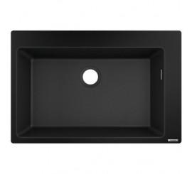 Hansgrohe S510-F660 Chiuveta 77x51 cm, negru (graphite black)