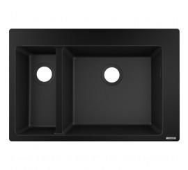Hansgrohe S510-F635 Chiuveta 77x41 cm, negru (graphite black)