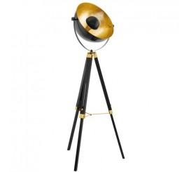 Eglo Covaleda Lampadar 1x60W, negru/auriu