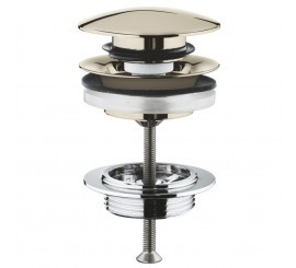 Grohe Ventil click-clack, bronz lucios (polished nickel)