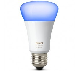 Philips Hue Bec LED RGB 10W, E27, lumina multicolora