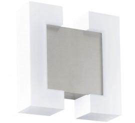 Eglo Sitia Aplica 2x4.8W, alb/argintiu