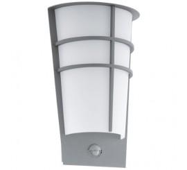 Eglo Breganzo 1 Aplica cu senzor pentru zi si noapte, 2x2.5W, alb/argintiu