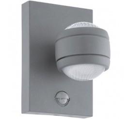 Eglo Sesimba 1 Aplica cu senzor pentru zi si noapte, 2x3.7W, argintiu