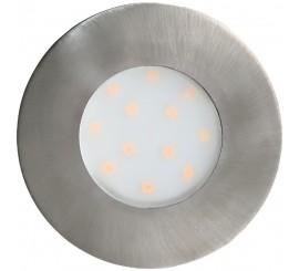 Eglo Pineda-IP Lampa incastrata rotunda 1x6W, crom mat