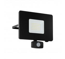 Eglo Faedo 3 Proiector cu senzor 1x50W, negru