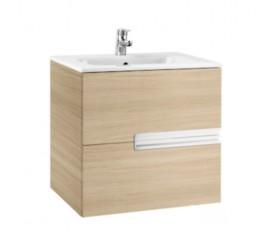 Roca Victoria-N Set mobilier de baie cu lavoar 60 cm, crem