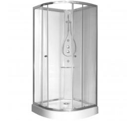 Glass Archimede Basic Cabina de dus semirotunda 90x90 cm