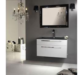 Arthema Vanity Line Set mobilier 91x50xH54 cm, gri argintiu
