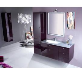 Arthema Vanity Line Set mobilier 106x50xH53 cm, mov