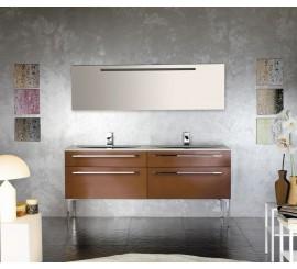 Arthema Vanity Line Set mobilier 182x50xH86 cm, maro
