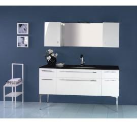 Arthema Vanity Line Set mobilier 161x50xH86 cm, alb