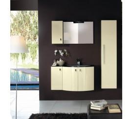 Arthema Vanity Twist Set mobilier 96x50xH54 cm, bej