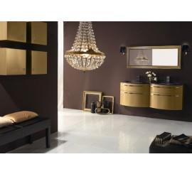 Arthema Vanity Twist Set mobilier 142x50xH54 cm, auriu