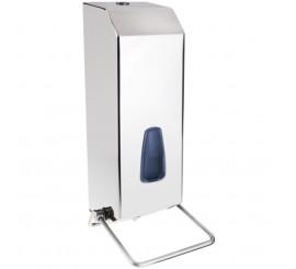 Bemeta Hotel Equipment Dispenser sapun lichid 1100 ml, crom mat