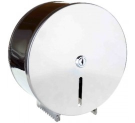 Bemeta Hotel Equipment Suport hartie igienica cu carcasa H27 cm, crom