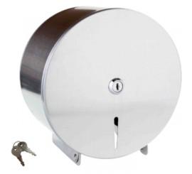 Bemeta Hotel Equipment Suport hartie igienica cu carcasa H33 cm, crom mat