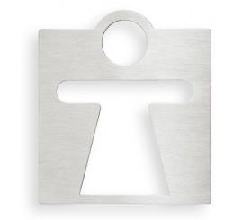 Bemeta Hotel Indicator toaleta pentru femei, crom mat