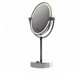 Bemeta Oglinda cosmetica stativa cu lumina Ø16 cm