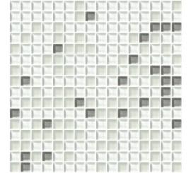 Mosaico+ Cromie Biancoargento C Mix 1