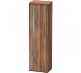 Duravit Ketho Dulap 50x36xH180 cm, deschidere dreapta, maro Natural Walnut