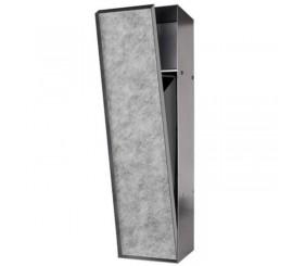 Easy Drain ESS Container Roll Nisa depozitare cu cos de gunoi, rama neagra, faiantabil