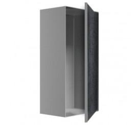 Easy Drain ESS Container T-Box 10 Nisa perete faiantabila 15x10xH30 cm, rama crom mat