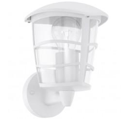 Eglo Aloria Aplica verticala orientata in sus, 1x60W, alb