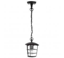 Eglo Aloria Lampa suspendata 1x60W, negru