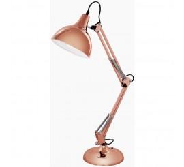 Eglo Borgillio Lampa de birou 1x60W, cupru