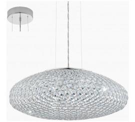 Eglo Clemente Lustra 3x60W, transparent