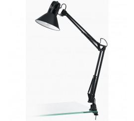 Eglo Firmo Lampa de birou cu clema 1x40W, negru