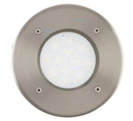 Eglo Lamedo Lampa incastrata rotunda 1x2.5W, inox