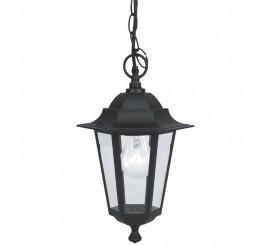 Eglo Laterna 4 Lampa suspendata 1x60W, negru