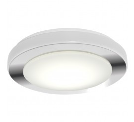 Eglo LED Carpi Plafoniera 1x16W, alb/crom