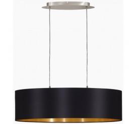 Eglo Maserlo Lustra 2x60W, negru