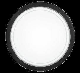 Eglo Planet 1 Aplica 1x60W, Ø29 cm, alb/negru