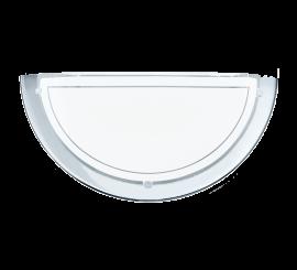 Eglo Planet 1 Aplica 1x60W, 29xH15 cm, alb/crom