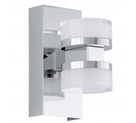 Eglo Romendo Aplica 2x4.5W, 7xH15 cm, alb/crom
